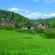 Le village de Collonges la Rouge